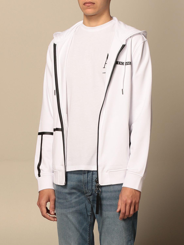 Sweatshirt Armani Exchange: Sweatshirt men Armani Exchange white 3