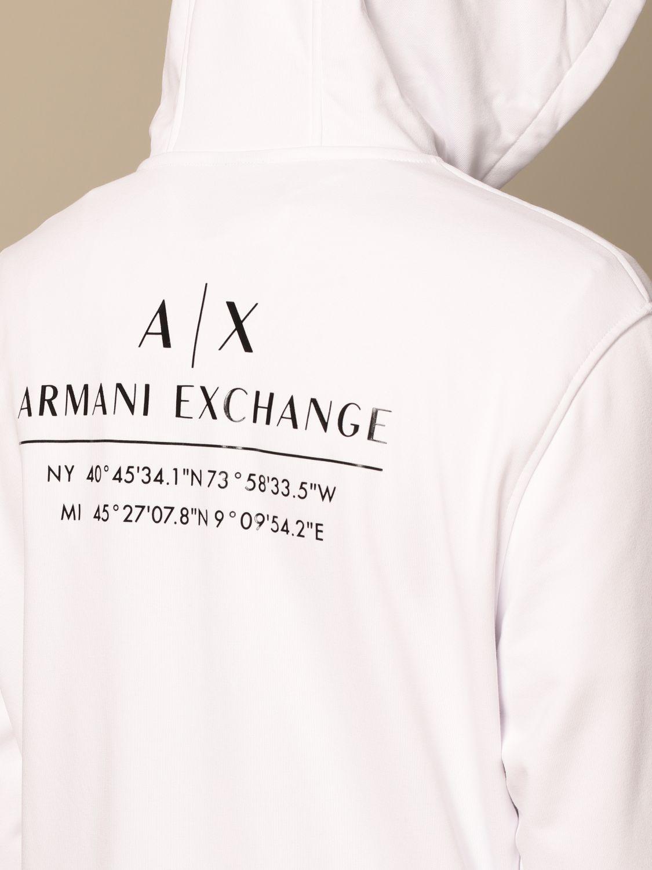 Sweatshirt Armani Exchange: Sweatshirt men Armani Exchange white 4