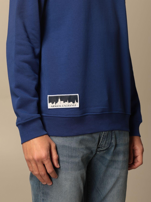 Sweatshirt Armani Exchange: Sweatshirt men Armani Exchange blue 3