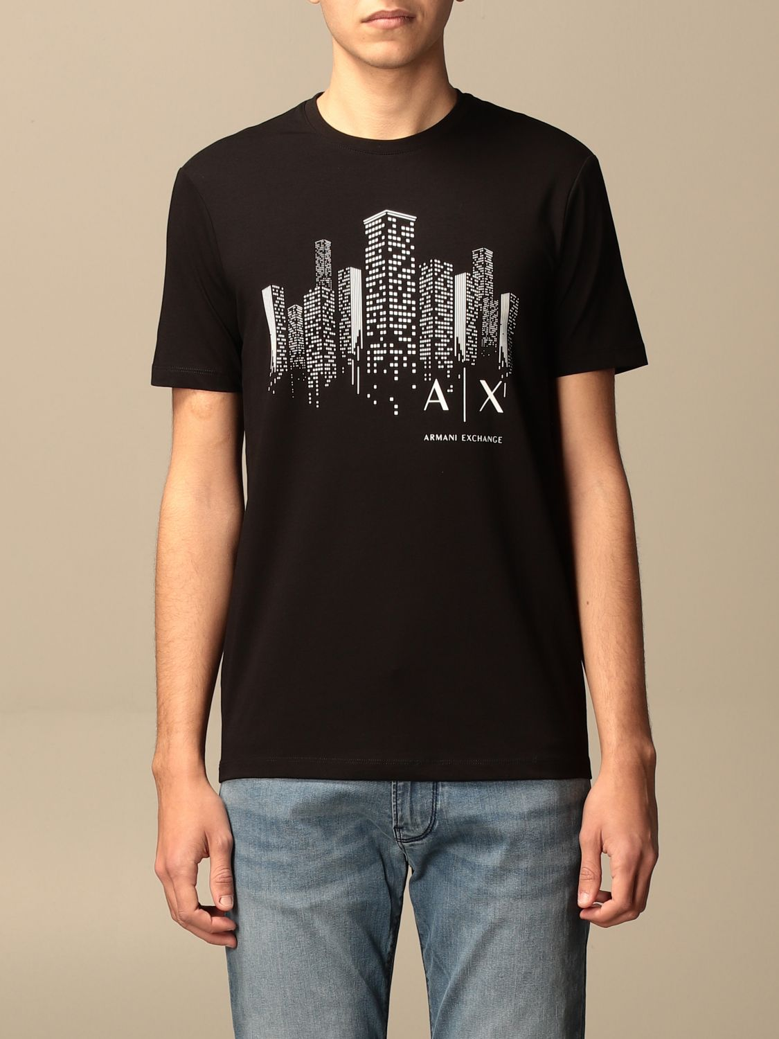 T-shirt Armani Exchange: T-shirt men Armani Exchange black 1