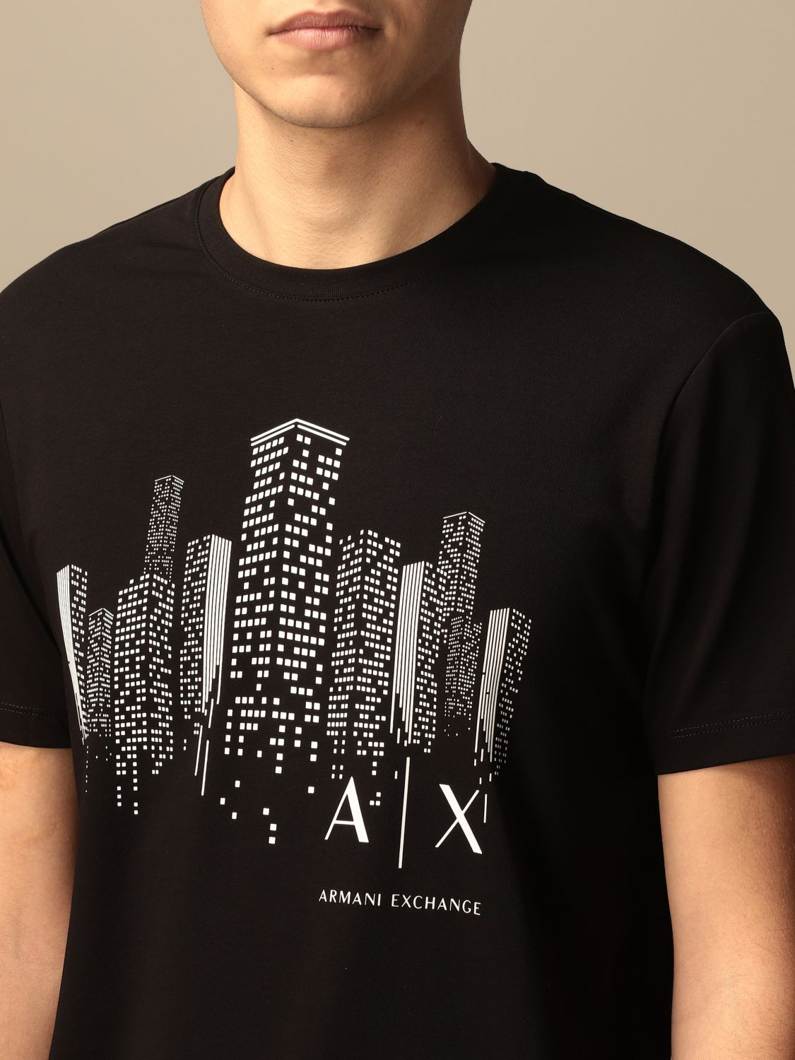 T-shirt Armani Exchange: T-shirt men Armani Exchange black 3