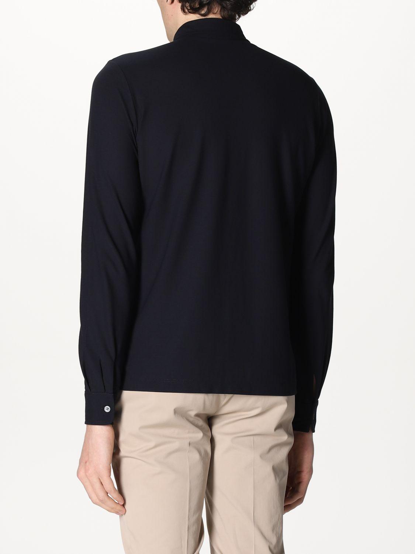 Camisa Zanone: Camisa hombre Zanone azul oscuro 2