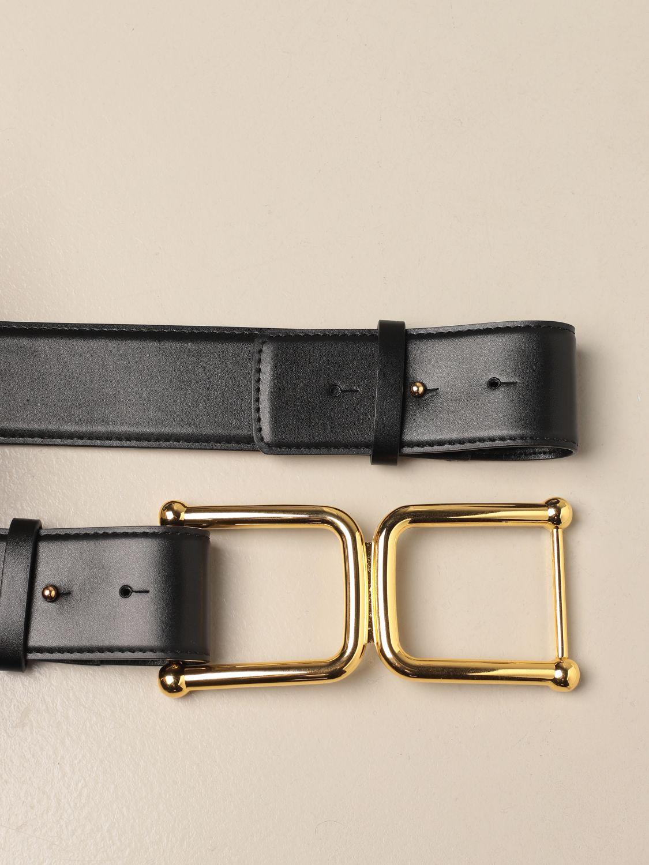 Cintura Elisabetta Franchi: Cintura Elisabetta Franchi in pelle nero 3