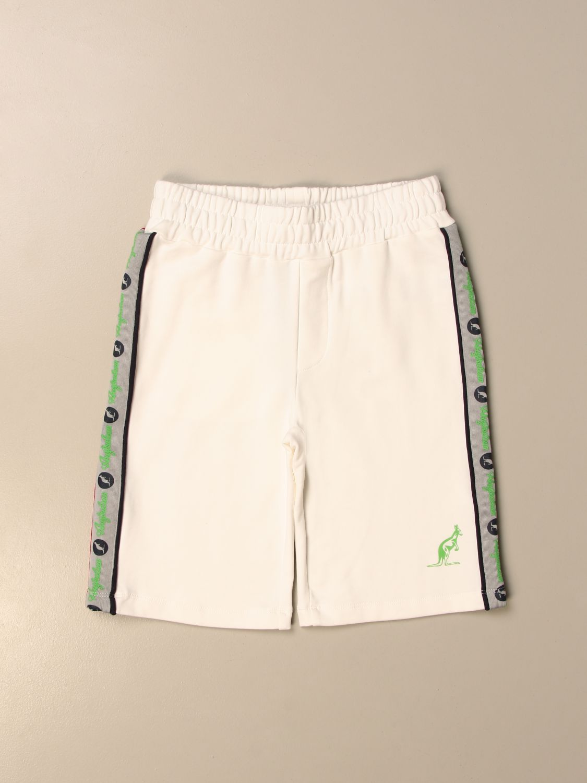 Shorts Australian: Australian jogging shorts with bands white 1