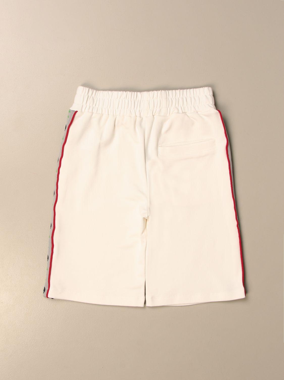 Shorts Australian: Australian jogging shorts with bands white 2