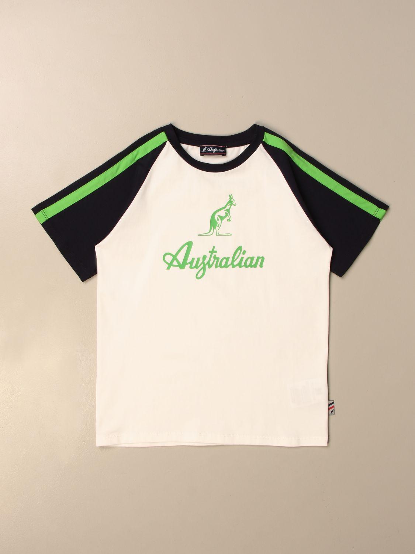 T-shirt Australian: Australian T-shirt with logo white 1