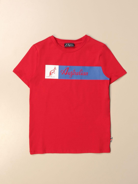 T-shirt Australian: Australian T-shirt with logo red 1