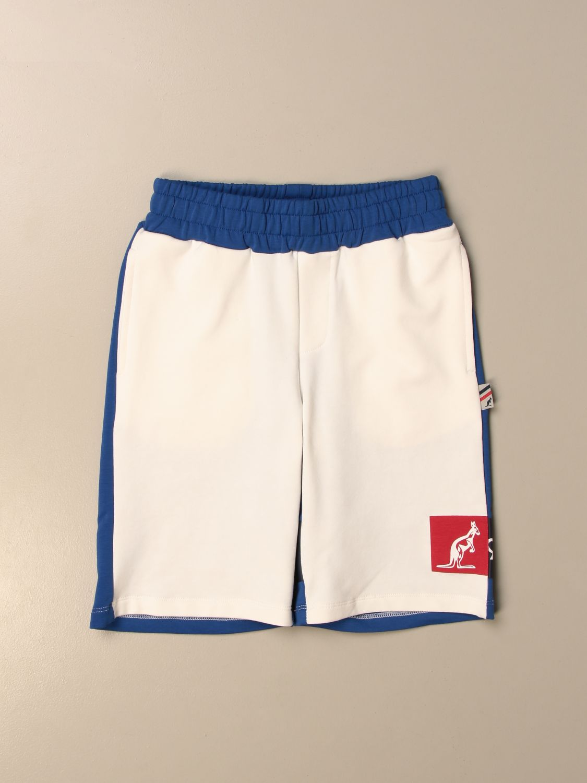 Shorts Australian: Australian jogging shorts with logo white 1