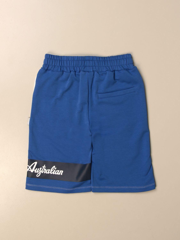 Shorts Australian: Australian jogging shorts with logo white 2