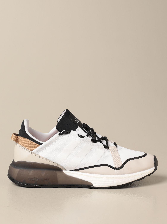 Trainers Adidas Originals: Adidas Originals Zx 2k boost sneakers white 1