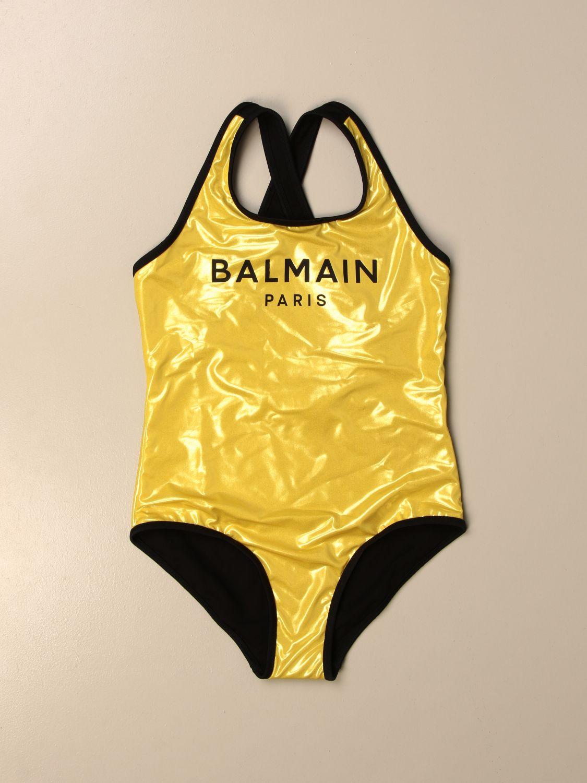 Купальник Balmain: Купальник Детское Balmain золотой 1