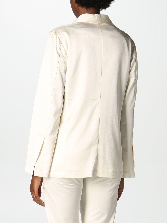 Blazer Semicouture: Jacke damen Semicouture weiß 3