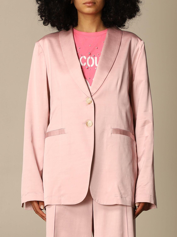 Blazer Semicouture: Jacke damen Semicouture pink 1