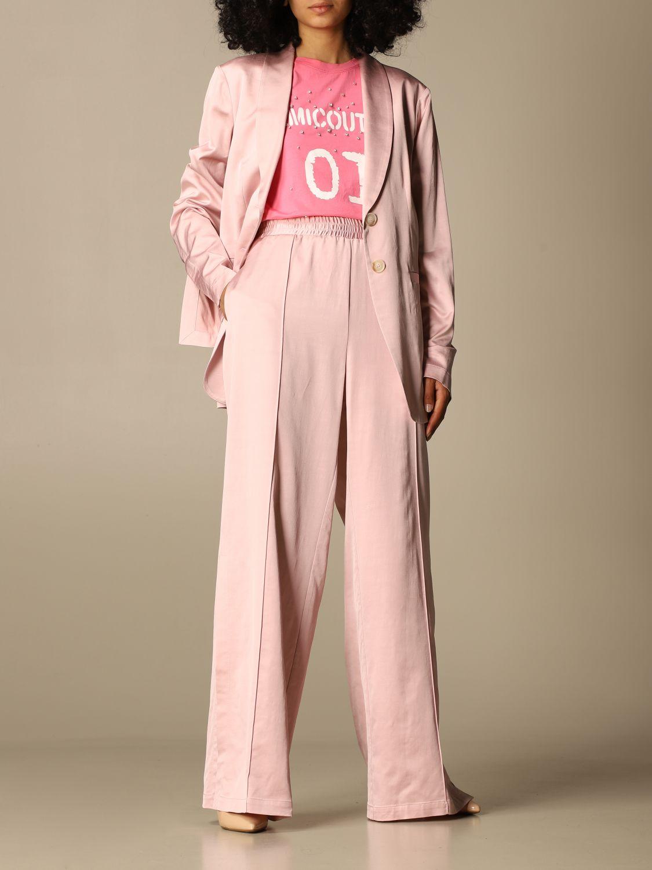 Blazer Semicouture: Jacke damen Semicouture pink 2