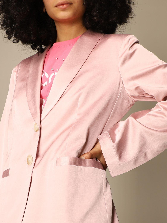 Blazer Semicouture: Jacke damen Semicouture pink 4