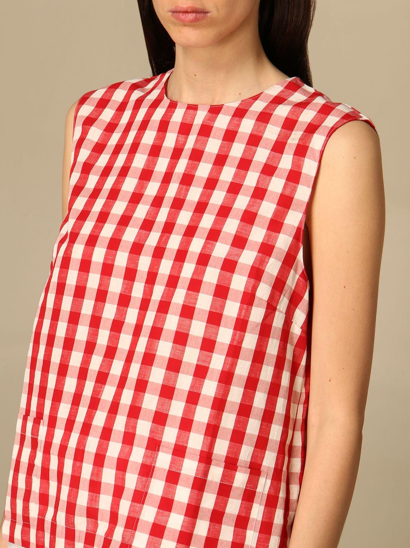 Top Semicouture: Pullover damen Semicouture rot 4