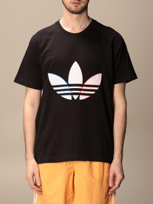 T-shirt Adidas Originals: T-shirt Adidas Originals con logo nero 1