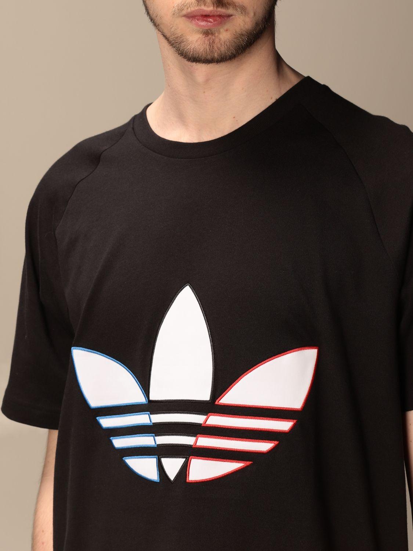T-shirt Adidas Originals: T-shirt Adidas Originals con logo nero 3
