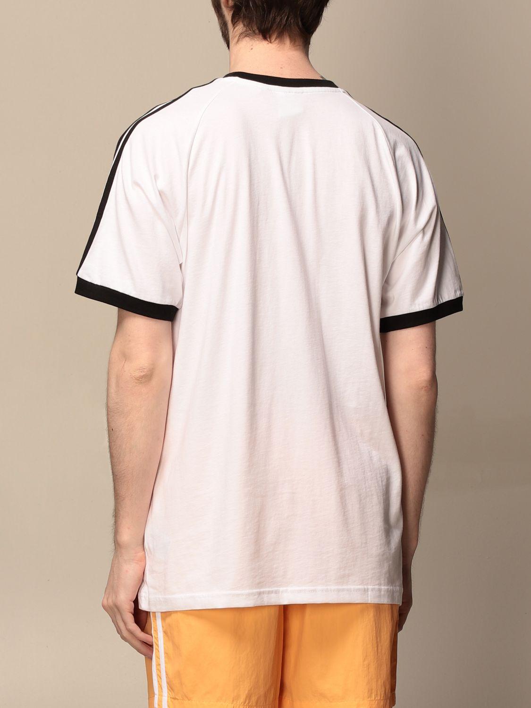 T-shirt Adidas Originals: T-shirt homme Adidas Originals blanc 2