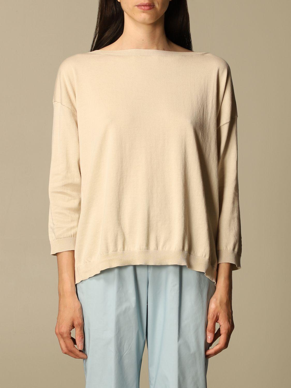 Pullover Semicouture: Pullover damen Semicouture beige 1