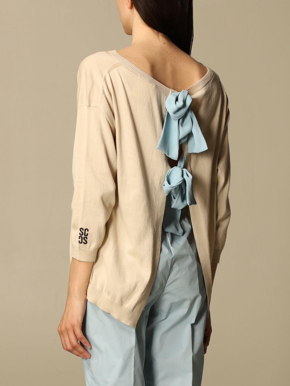 Pullover Semicouture: Pullover damen Semicouture beige 2