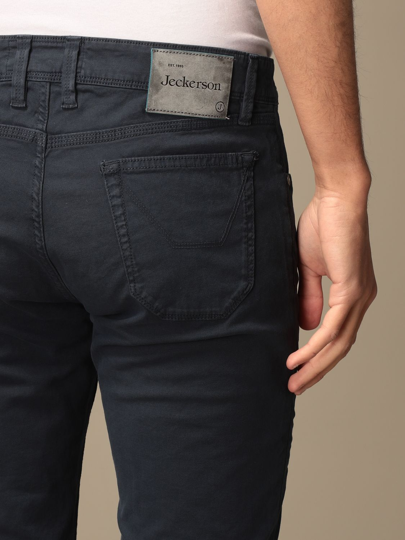Pants Jeckerson: Pants men Jeckerson blue 4