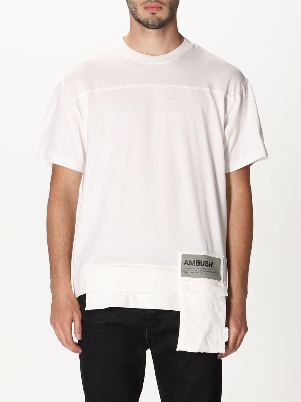 T-shirt Ambush: T-shirt men Ambush white 1