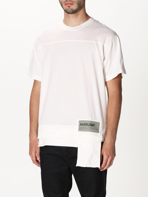 T-shirt Ambush: T-shirt men Ambush white 3