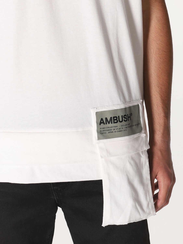 T-shirt Ambush: T-shirt men Ambush white 4