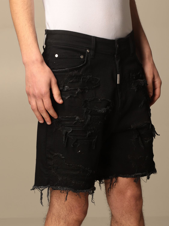 短裤 Represent: 牛仔裤 男士 Represent 黑色 4
