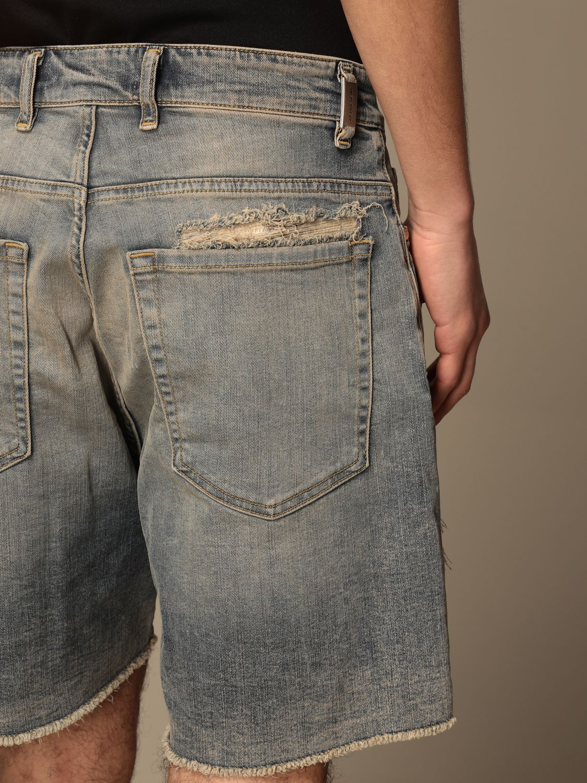 短裤 Represent: 牛仔裤 男士 Represent 蓝色 4