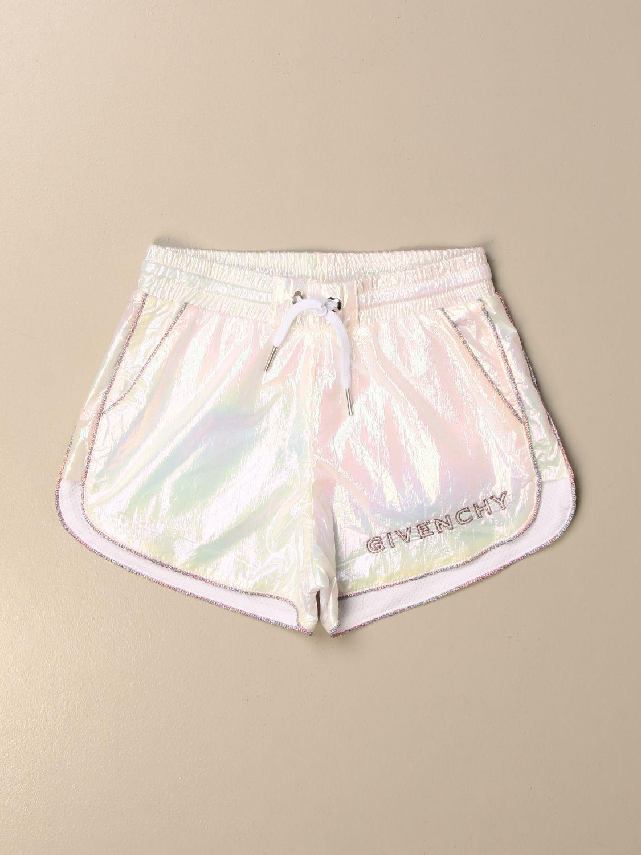 Short Givenchy: Givenchy jogging shorts with logo grey 1
