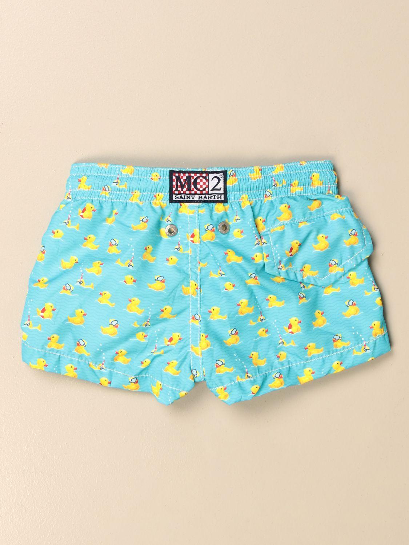 Swimsuit Mc2 Saint Barth: Mc2 Saint Barth patterned swim shorts multicolor 2