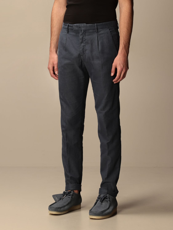 Trousers Briglia: Trousers men Briglia blue 3