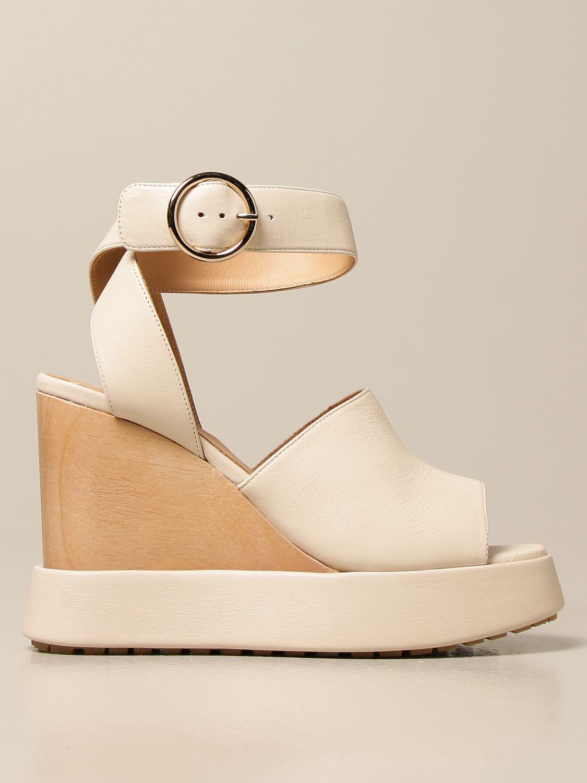 Chaussures compensées Paloma Barcelò: Chaussures femme Paloma BarcelÒ beige 1