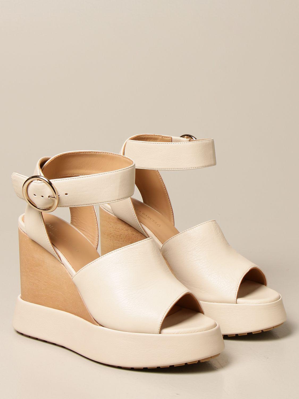 Chaussures compensées Paloma Barcelò: Chaussures femme Paloma BarcelÒ beige 2