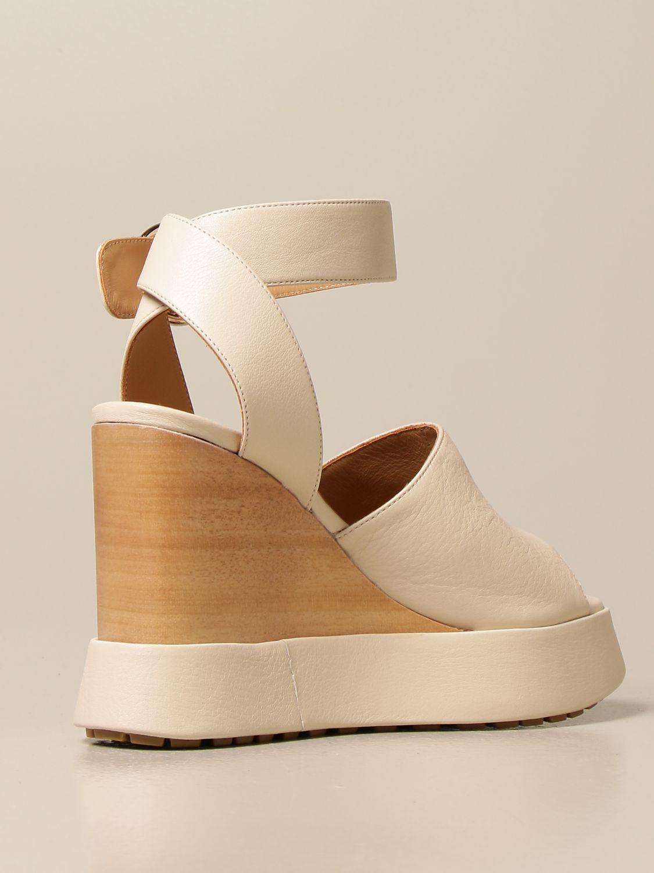 Chaussures compensées Paloma Barcelò: Chaussures femme Paloma BarcelÒ beige 3