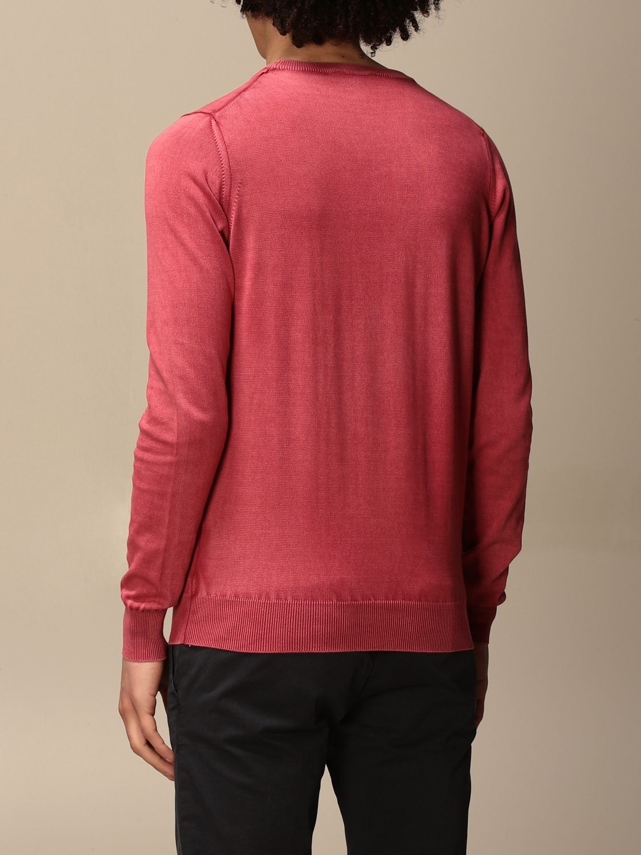 Sweater Alpha Studio: Sweater men Alpha Studio red 2