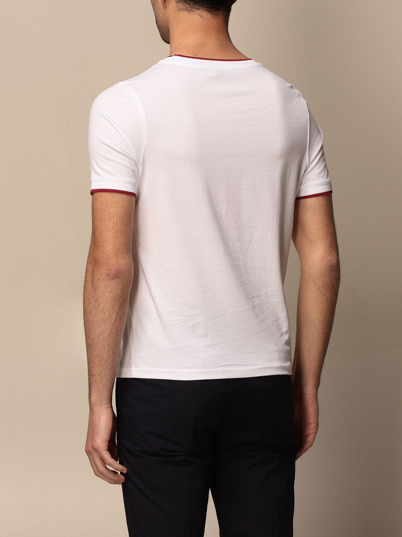 T-shirt Alpha Studio: Maglia a girocollo Alpha Studio bianco 2