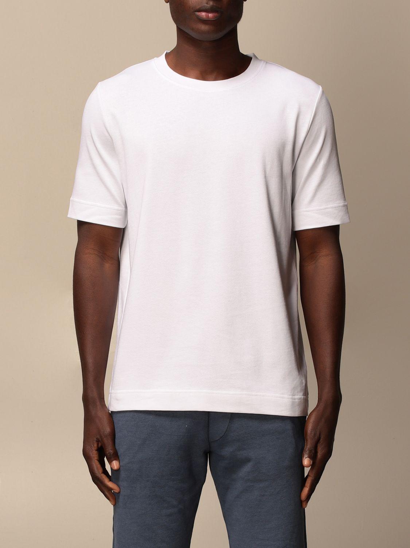 T-shirt Alpha Studio: T-shirt men Alpha Studio white 1