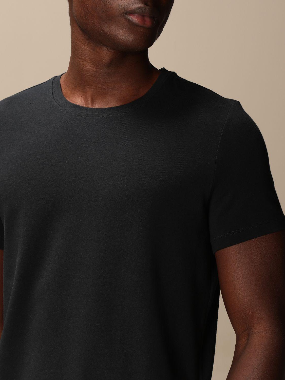 T-shirt Alpha Studio: T-shirt basic Alpha Studio blue 3