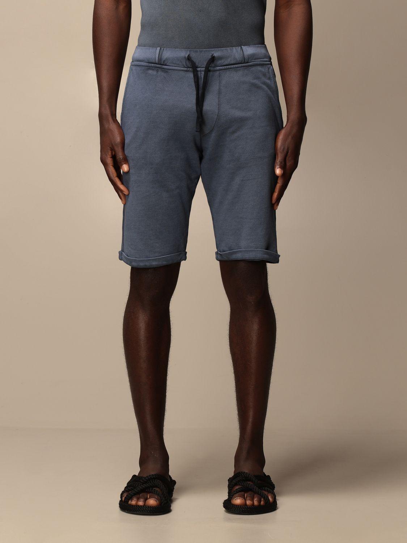 Short Alpha Studio: Trousers men Alpha Studio blue 1