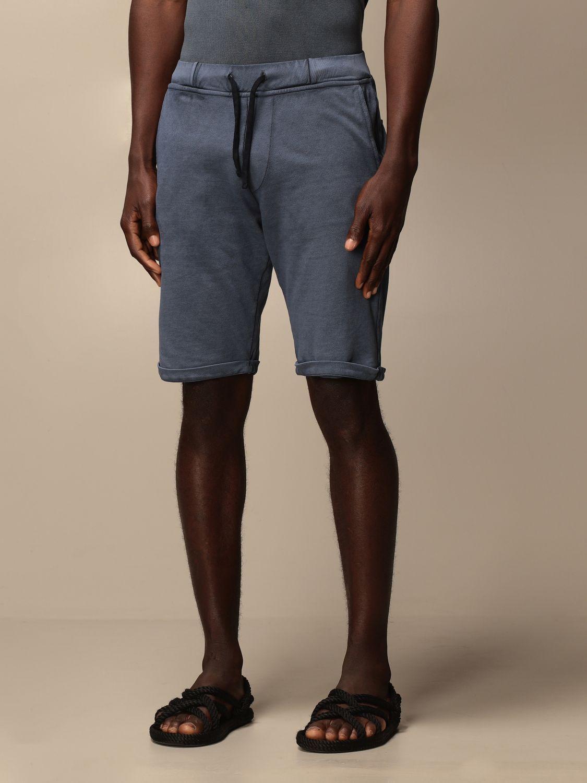 Short Alpha Studio: Trousers men Alpha Studio blue 3