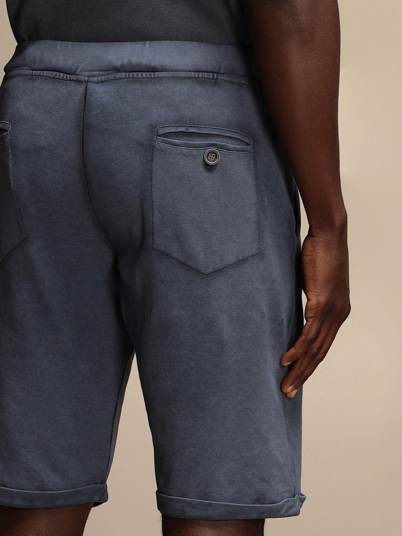 Short Alpha Studio: Trousers men Alpha Studio blue 4