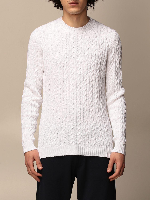 Sweater Alpha Studio: Sweater men Alpha Studio white 1