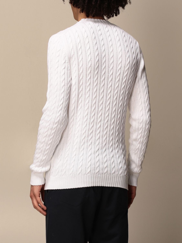 Sweater Alpha Studio: Sweater men Alpha Studio white 2