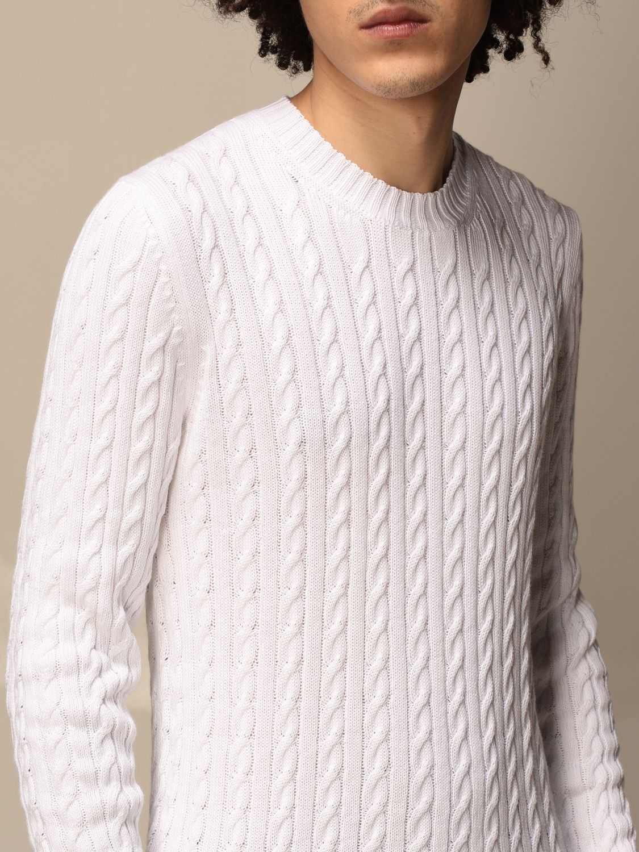 Sweater Alpha Studio: Sweater men Alpha Studio white 3
