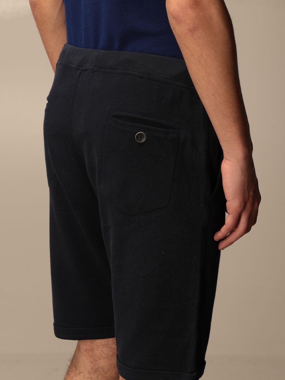 Pantaloncino Alpha Studio: Pantaloncino jogging Alpha Studio blue navy 4