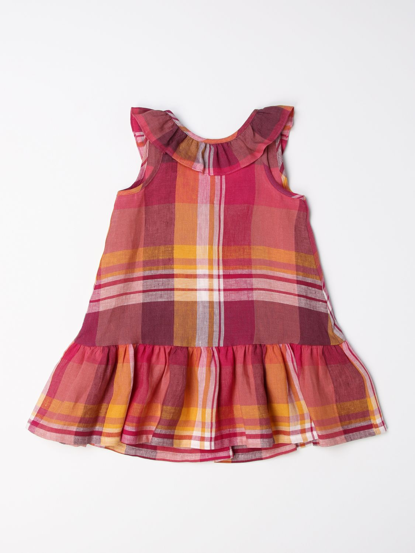 Vestido Il Gufo: Vestido niños Il Gufo fucsia 1