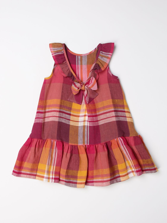Vestido Il Gufo: Vestido niños Il Gufo fucsia 2